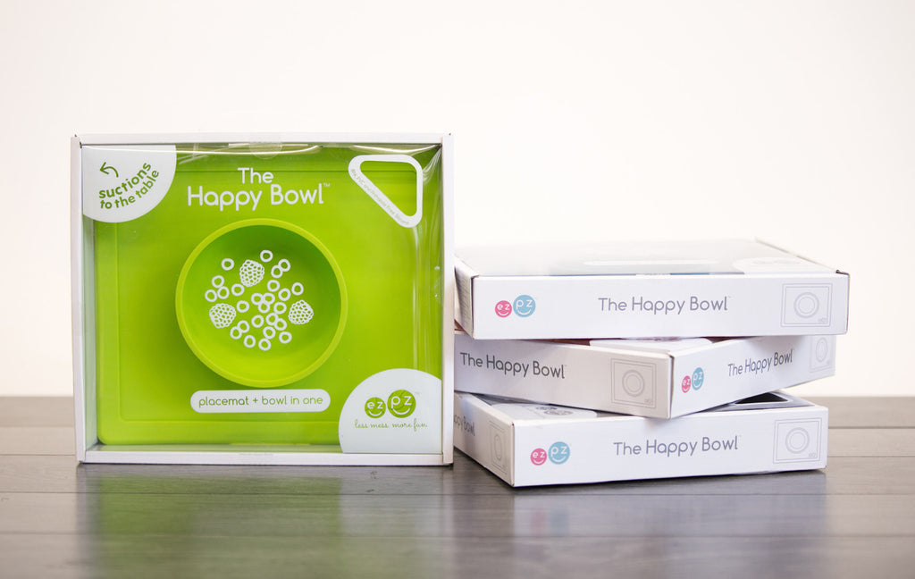 ezpz Happy Bowl - options Talk-Tools