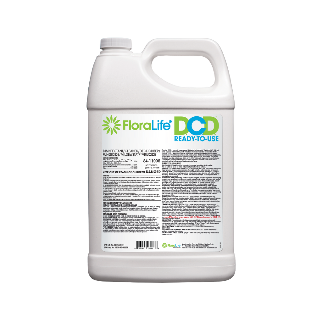 D.C.D.® Cleaner Ready-To-Use Gallon by FloraLife®