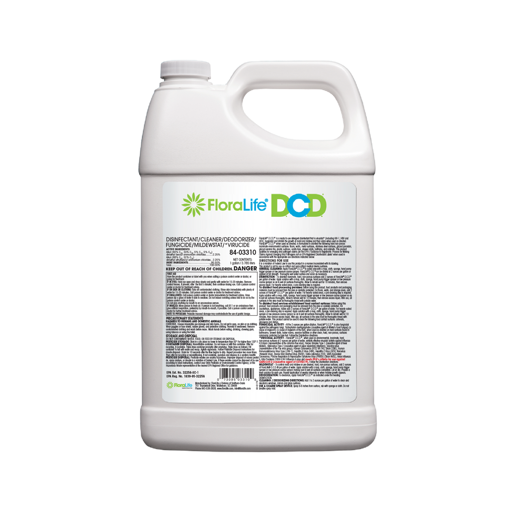 Disinfectant/Cleaner/Deodorizer (D.C.D.) Concentrate