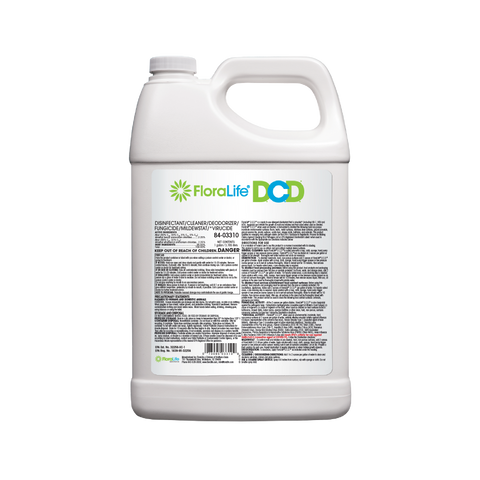 D.C.D.® Cleaner Concentrate Gallon by FloraLife®