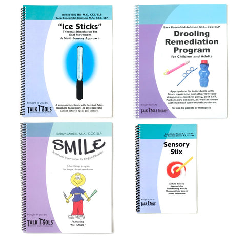 TalkTools Therapy: Program Manual - 4 Pack -  Talk-Tools