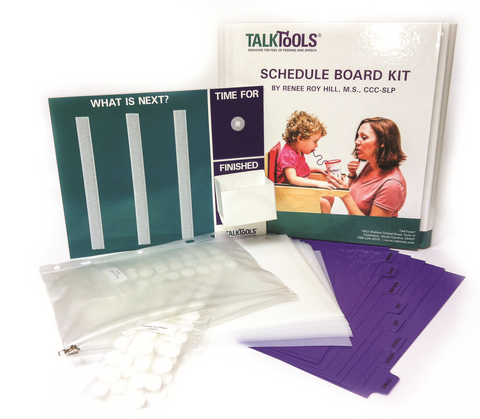 TalkTools Schedule Board Kit