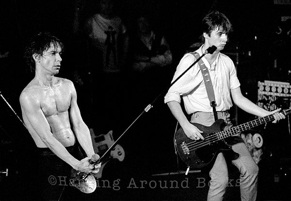 HERE COMES JOHNNY YEN AGAIN - IGGY POP 1979/81