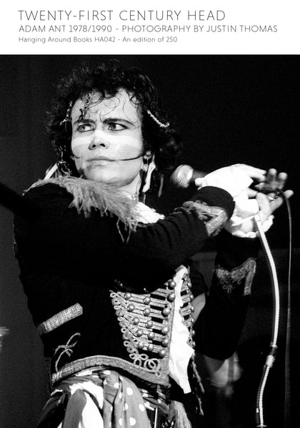 TWENTY-FIRST CENTURY HEAD : ADAM ANT 1978/1990