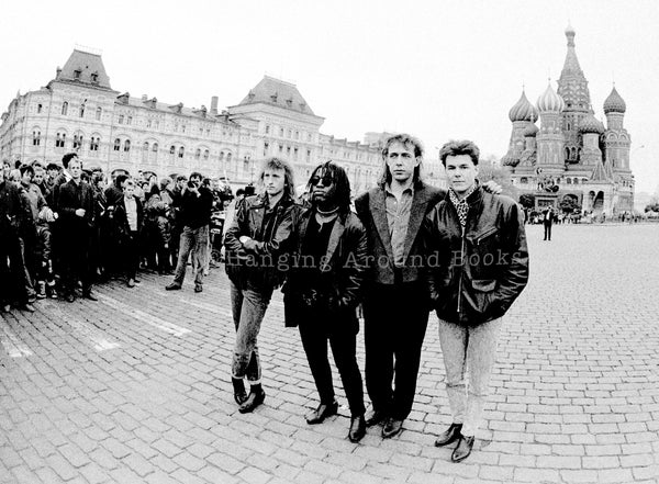 PEACE IN OUR TIME : BIG COUNTRY MOSCOW 1988