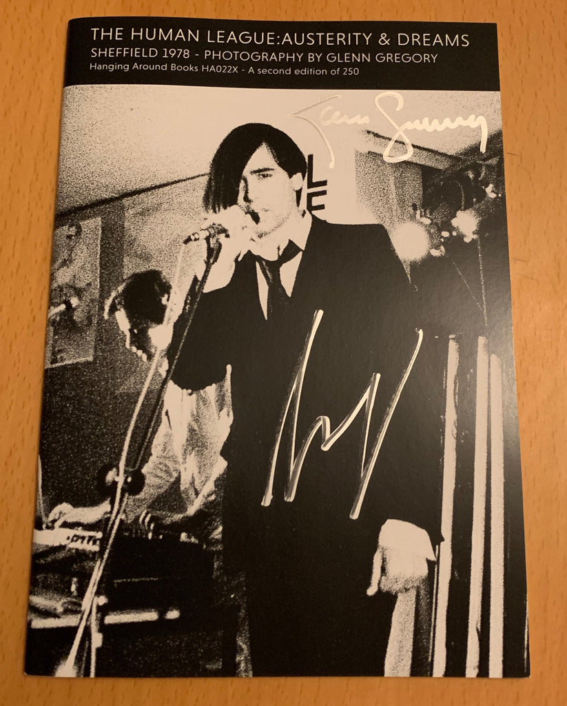 HUMAN LEAGUE BOOK - SIGNED BY GLENN GREGORY AND MARTYN WARE