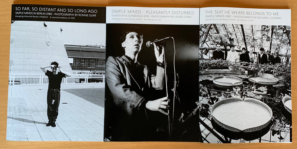 SIMPLE MINDS TRILOGY - SPECIAL OFFER - 3 FOR £25+P&P
