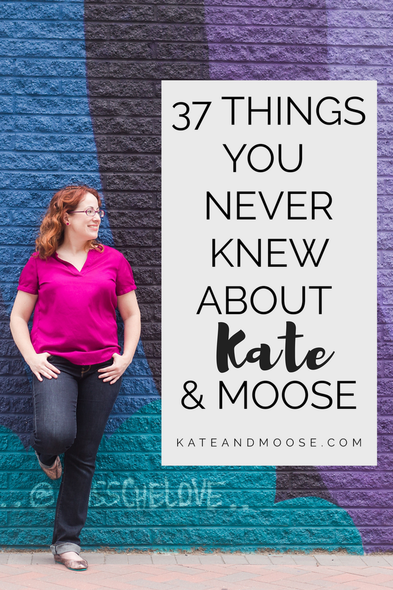 37 Things You Never Knew About Kate and Moose