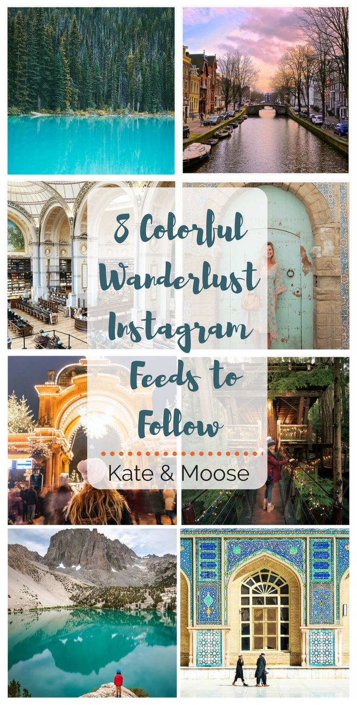 8 Colorful Wanderlust Instagram Feeds to Follow