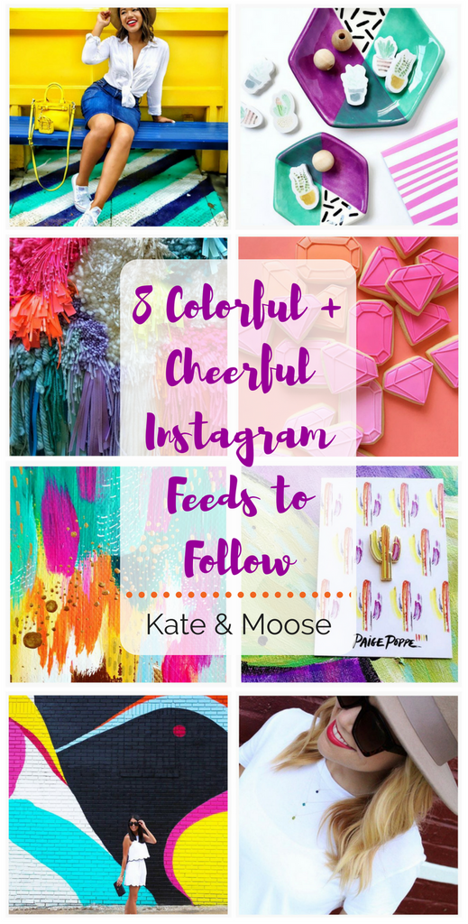 8 Colorful and Cheerful Instagram Feeds to Follow