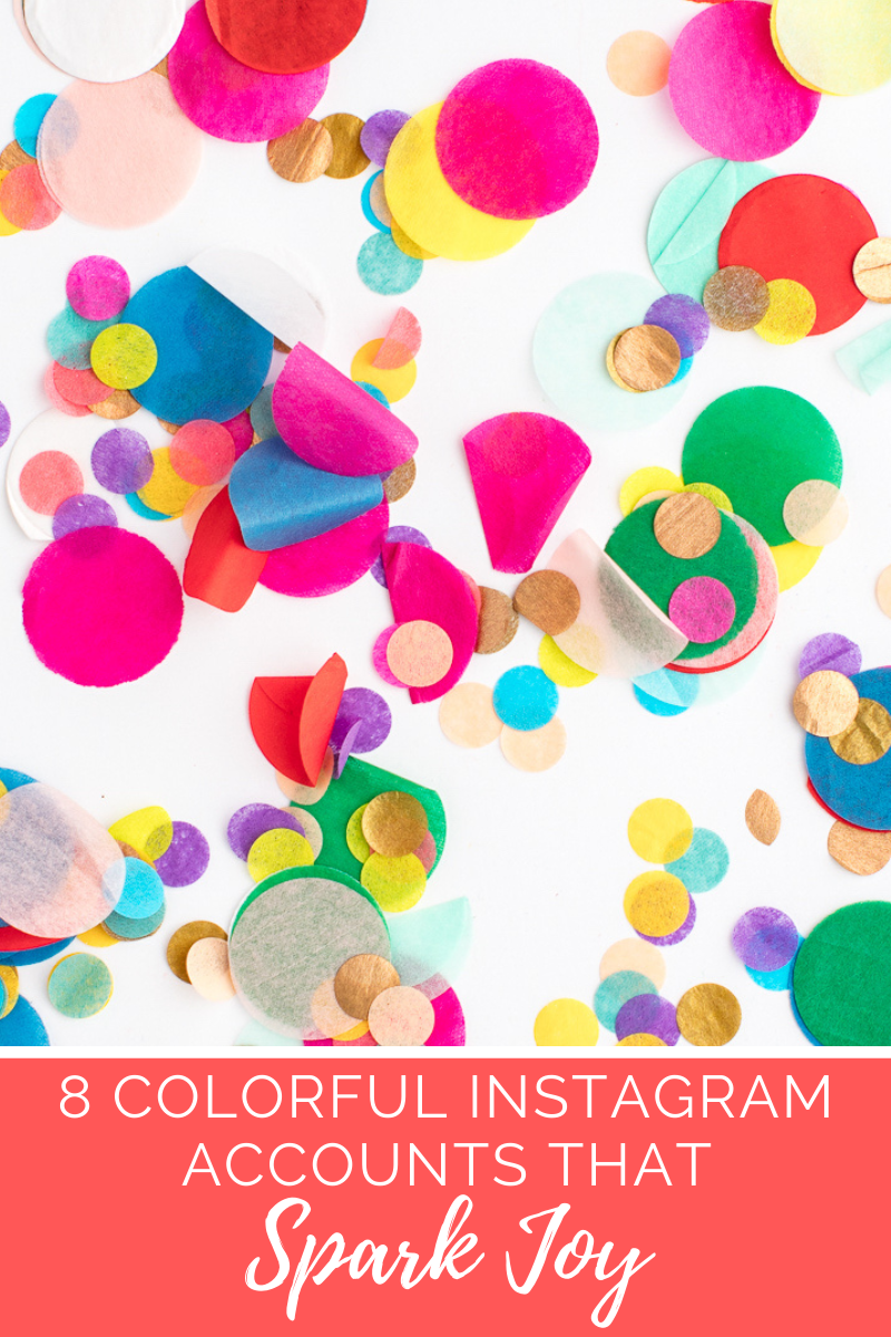 Eight Colorful Instagram Accounts That Spark Joy