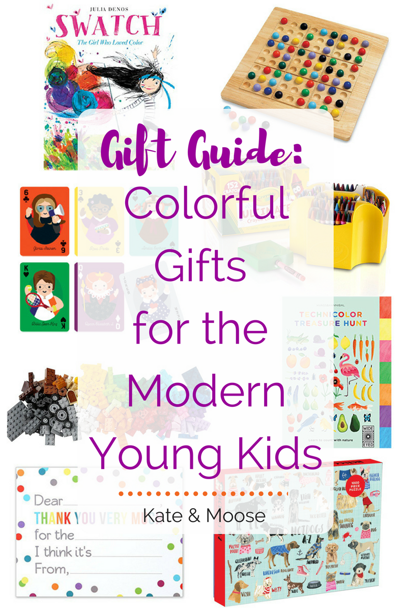 Gift Guide: Colorful Gifts for the Modern, Young Kids