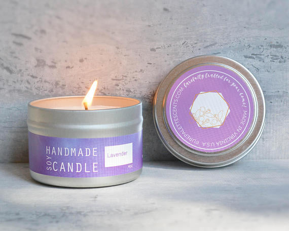 Lavender Candle by Pure Palette Scents