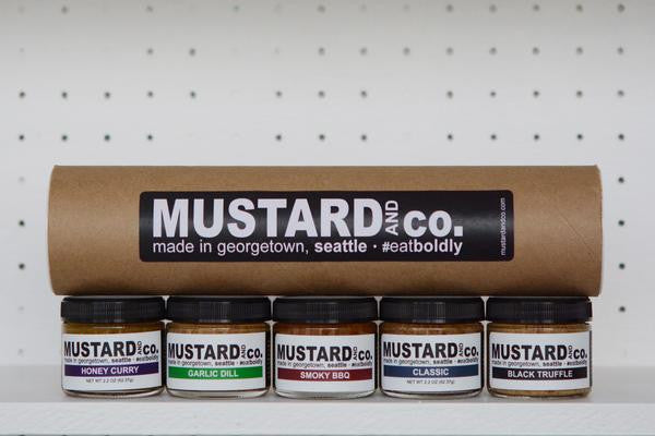 Mustard & Co Five Flavor Gift Set