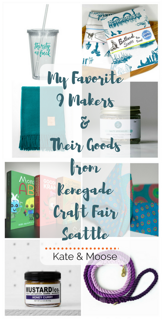 Kate and Moose's Favorite 9 Makers & Their Goods from Renegade Craft Fair Seattle
