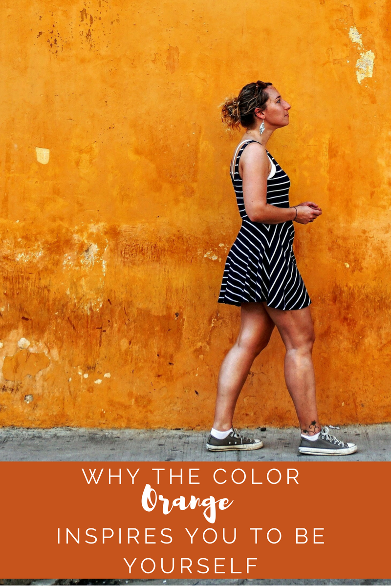Why the Color Orange Inspires You to Be Yourself