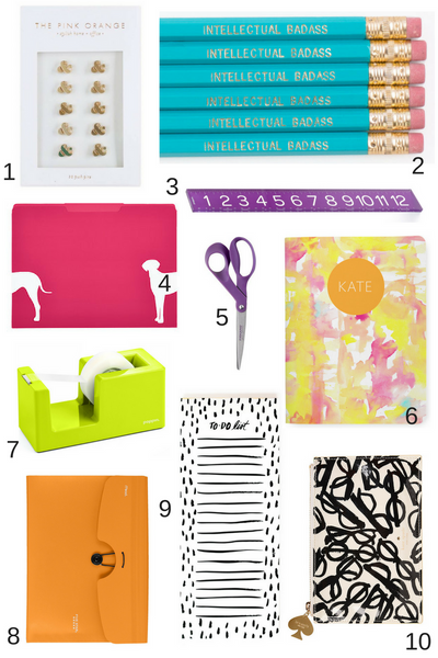 10 Back to School Supplies That Add Color to Your Cubicle