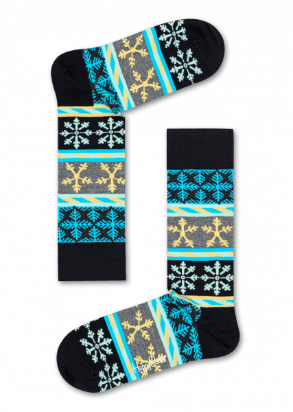 Happy Socks Snow Flake Stripe