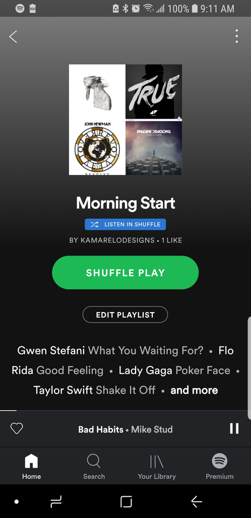 Morning Start Playlist by Kate and Moose