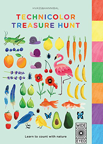 Technicolor Treasure Hunt: Learn to count with nature by Hvass & Hannibal