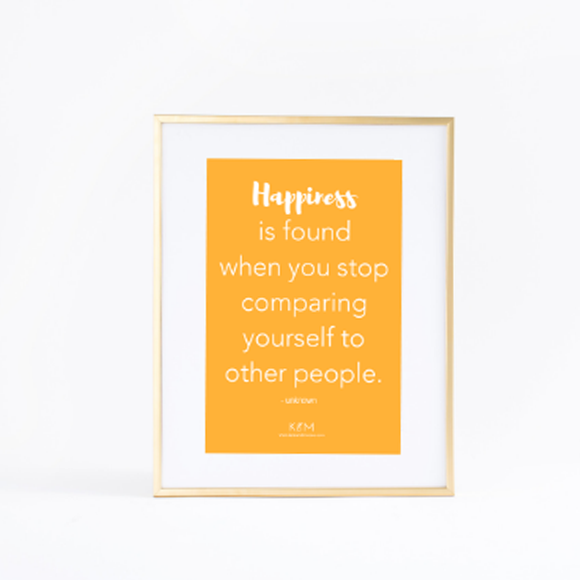 Motivational Art Print - Smile Inducing Typographic Art