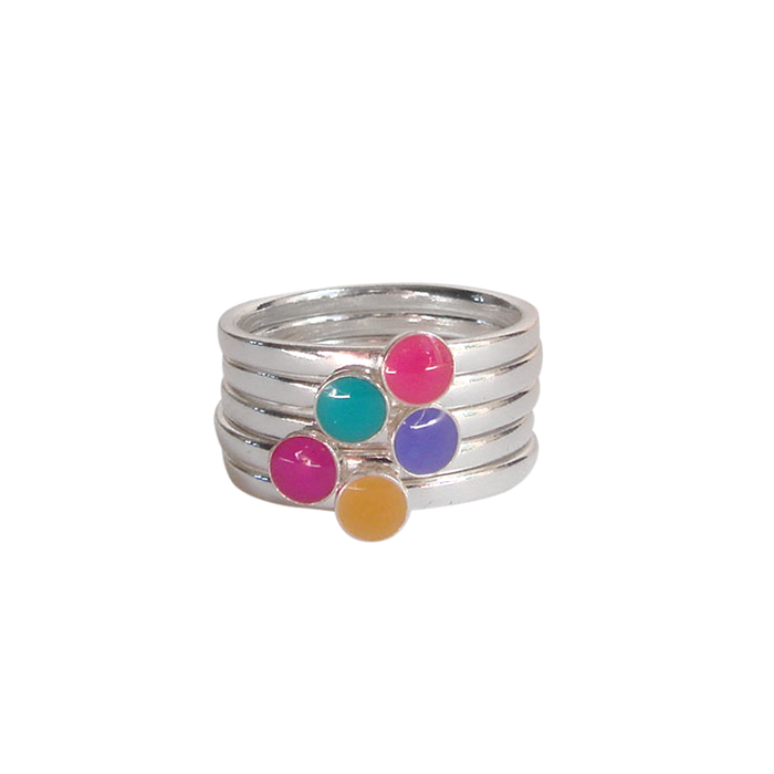 Kate and Moose Set of 5 Stacking Rings