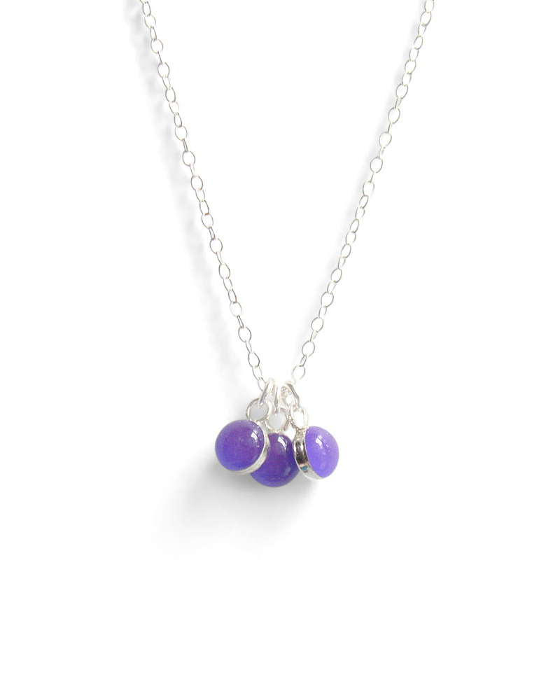 Kate and Moose Spanish Violet Layering Necklace