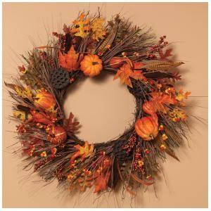 Autumn Fields Harvest Wreath