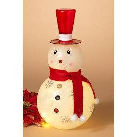Gerson Lighted Snowman