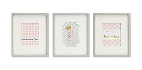 Framed Wall Plaques for Little Girls