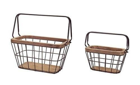 Modern Metal Baskets