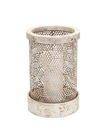 Stone Look Candle Holder