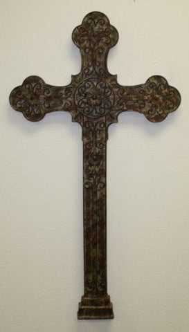 Iron & Tole Large Wall Cross