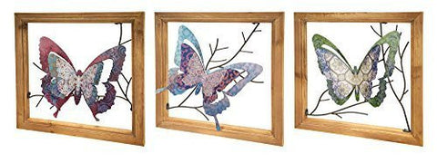 Butterfly Frame Wall Piece