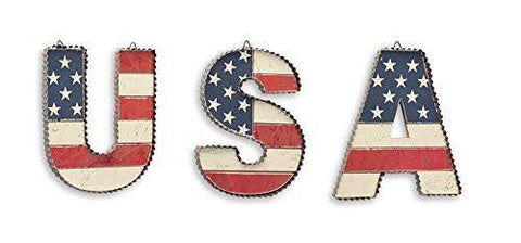 USA Wall Letters