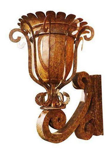 Madrigal Iron Scroll Wall Planter