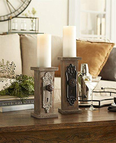 Door Knob Candle Holders