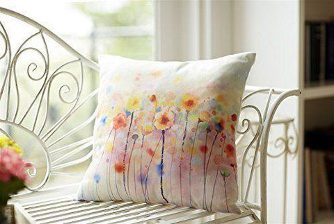 Whimsical Watercolor Throw Pillows
