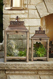 Distressed Beach Style Lanterns