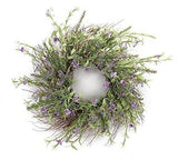 Spring Floral Heather Wreath
