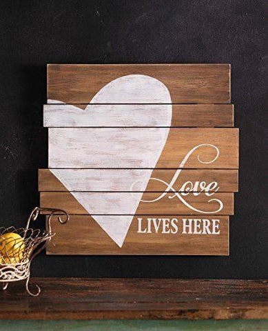 Rustic Heart Plaque