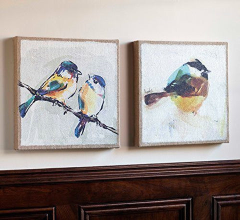 Blue Bird Wall Canvases