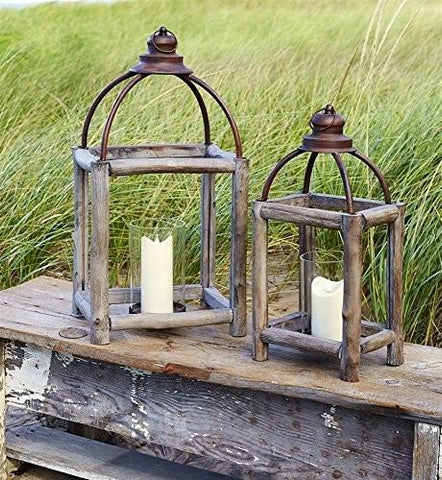 Rustic Candle Lanterns