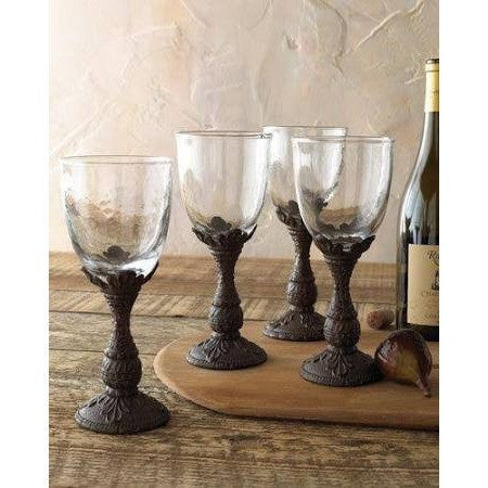GG Collection Acanthus Stemmed glasses