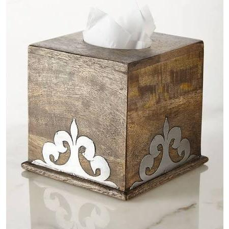 Hide unsightly tissues boxes while adding a luxurious accent to your home decor!