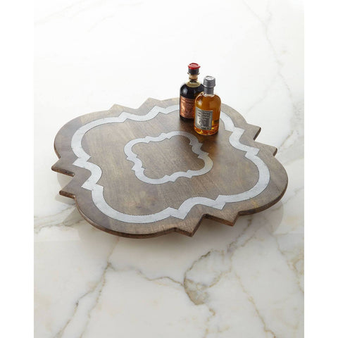 GG Collection Heritage Wood Lazy Susan besides beautiful, it's functional.