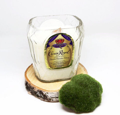Crown Royal Whiskey Candle