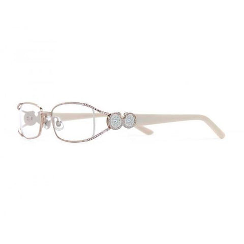Designer Swarovski Crystal Fanciful Readers - Gold