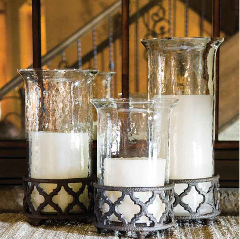 GG Collection Ogee-Grand Cylinder Candleholders