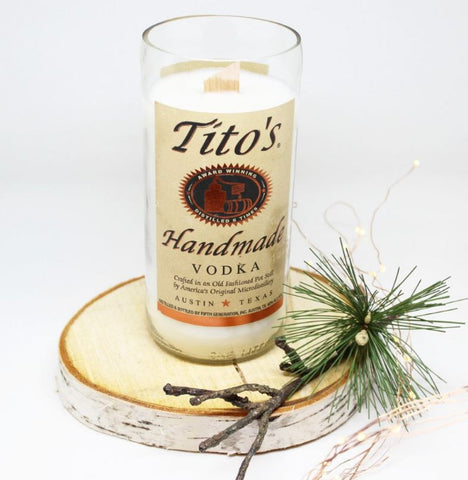 Tito's  Vodka Candle